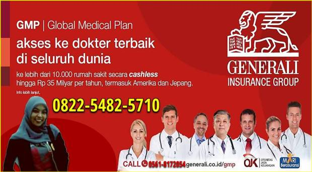 GMP Bonita Generali Insurance Group Galaxy Pontianak