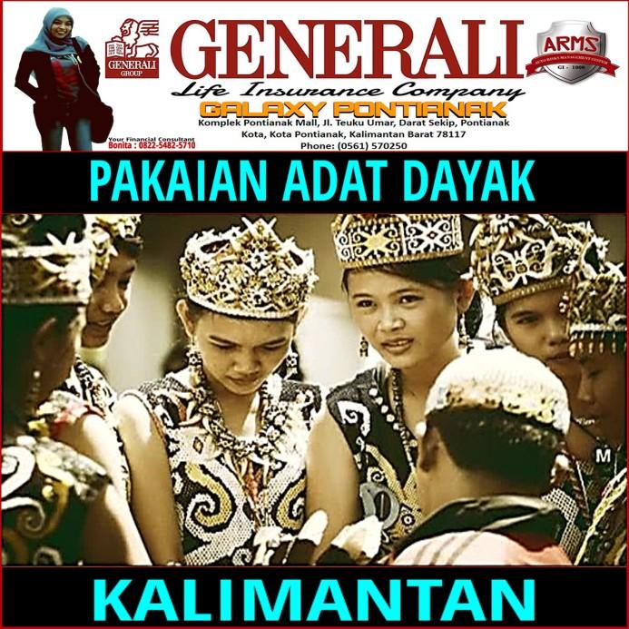 Suku Dayak Kalimantan - Generaly Galaxy Pontianak